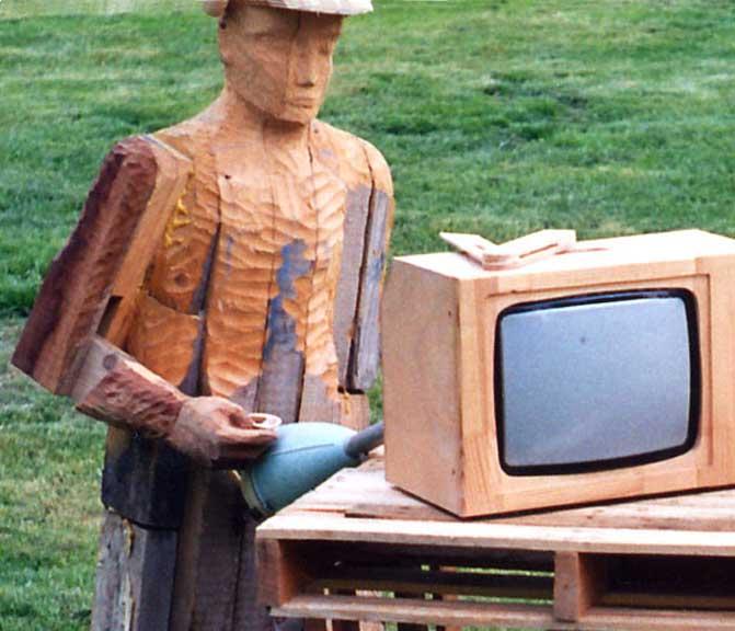 L'aspirateur et la télé de Monsieur Guingois