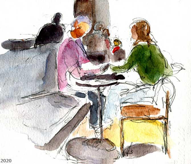 Starbucks Café Louvre